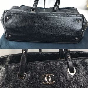 CHANEL Bags - GORGEOUS 💎ZIPPER QUILTED CHANEL 💎TOTE LEATHER